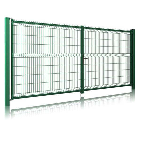 Распашные ворота Лайт 3D Забор™ – 2030х4000 мм