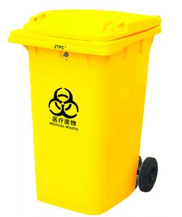 360А-2Y Бак для мусора пластиковый 360л., желтый
