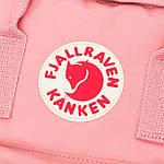 Рюкзак Fjallraven Kanken Pink, фото 6