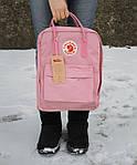 Рюкзак Fjallraven Kanken Pink, фото 9