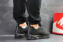 Мужские кроссовки Nike Air Max 98 Off White,черные, фото 2