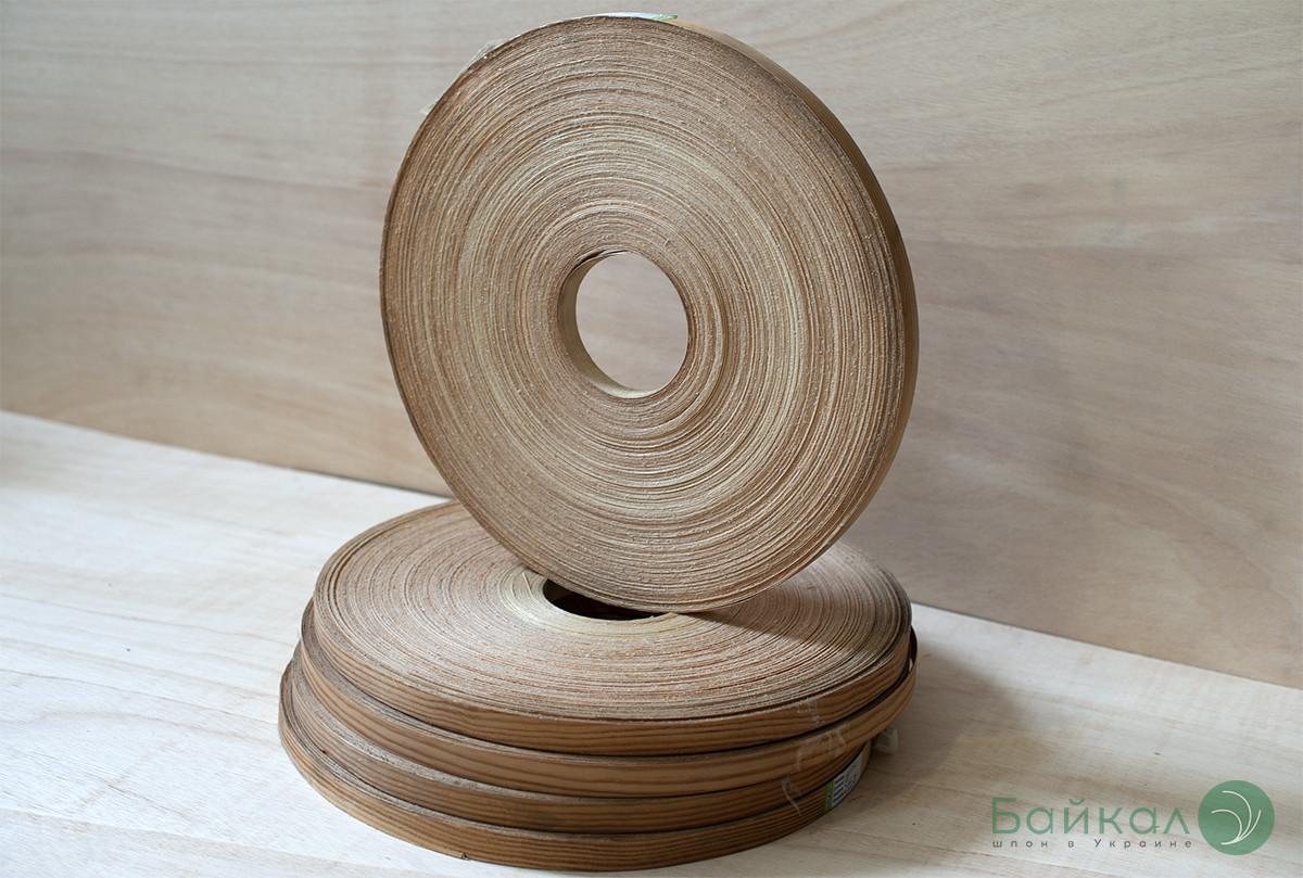 Кромка мебельная Сосна(натуральная) - с клеем