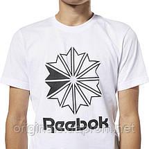 Повседневная футболка Рибок Classics Big Logo DT8117  , фото 3