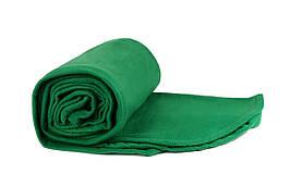 Плед зелений флісовий 145х200 см