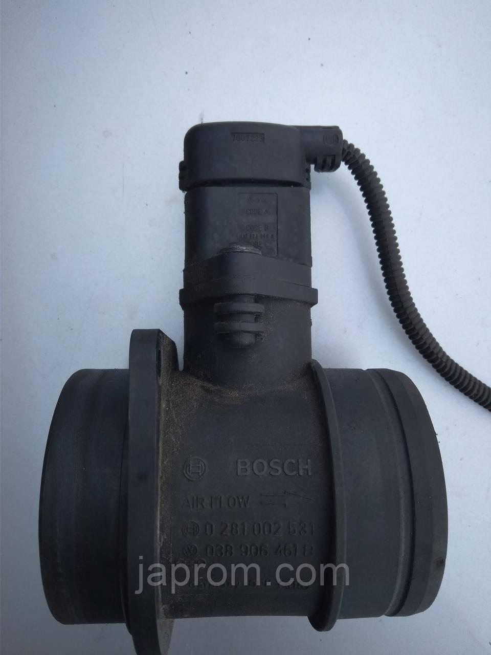 Датчик расхода (потока) воздуха, расходомер M.A.F. AUDI SEAT SKODA VOLKSWAGEN