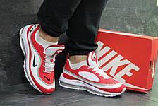Мужские кроссовки Nike Air Max 98 Off White,белые с красным 44р, фото 2