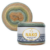Пряжа Nako Angora Luks Color 81912 (Нако Ангора Люкс Колор)