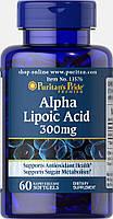 Альфа-липоевая кислота Puritan's Pride Alpha Lipoic Acid 300 mg 60 гелевых капсул