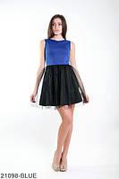 Эффектное женское платье с фатином на юбке Lorein