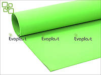EVA, фоамиран 2 мм/зеленый 125х145 см. материал Evaplast 4100 (этиленвинилацетат)