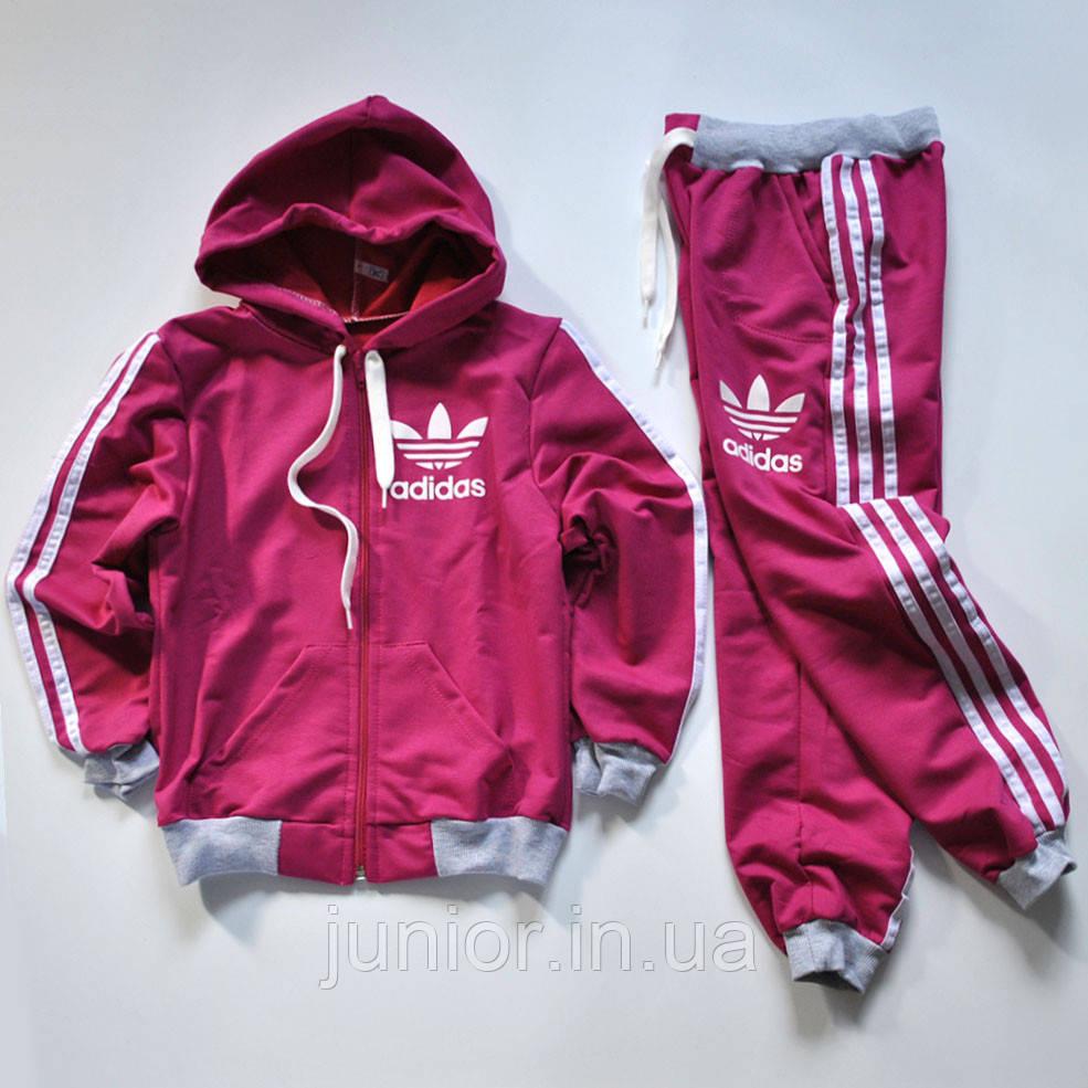 8b09628ab58ff Детский спортивный костюм для девочки двунитка (110-128р): продажа ...