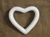 Сердце из пенопласта 13см