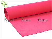 EVA, фоамиран 2 мм/красный 125х145 см. материал Evaplast 4100 (этиленвинилацетат)