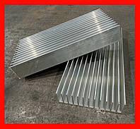 Радиаторный профиль алюминиевый 122х38, БПО-1909, Остатки по L=245 мм
