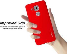Soft-touch силиконовый чехол SMTT для Huawei Nova Plus. Разные цвета