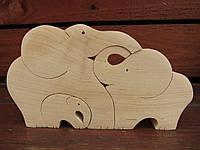 Пазл - головоломка Сім'я слонів, Майстерня Eko-Land