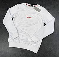 Кофта свитшот мужская Prada white № 47 (реплика)