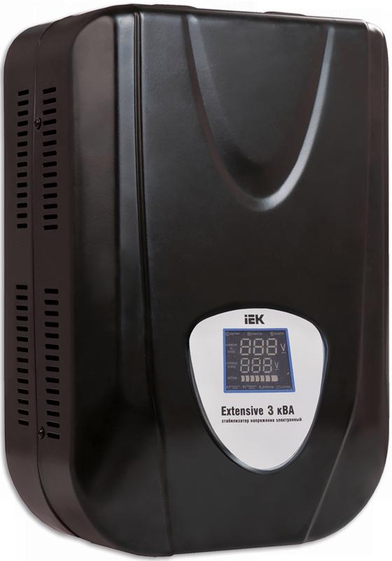 Стабилизатор напряжения Extensive 3 кВА электронный настенный, IEK