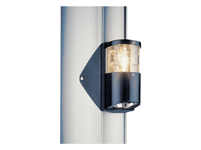 Мачтовый огонь + палубный фонарь Aqua Signal AS 25 IP45