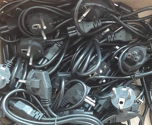 Сетевой Шнур Кабель для Ноутбука (Микки Маус) для Блока Питания, фото 3