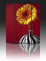 """Ширма """"Цветок в вазе"""", 160х180см, деревянная"""