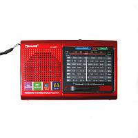 Портативная колонка радио MP3 USB Golon RX 6622, красная