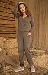 Женский вязанный комбинезон №466, фото 3