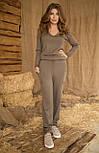 Женский вязанный комбинезон №466, фото 4