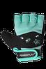 Фітнес рукавички PowerPlay 3492 жіночі Чорно-М'ятні S, фото 8