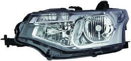 Фара с электрокорректором левая Mitsubishi Outlander Iii (пр-во DEPO). 214-11A5L-LDEM2
