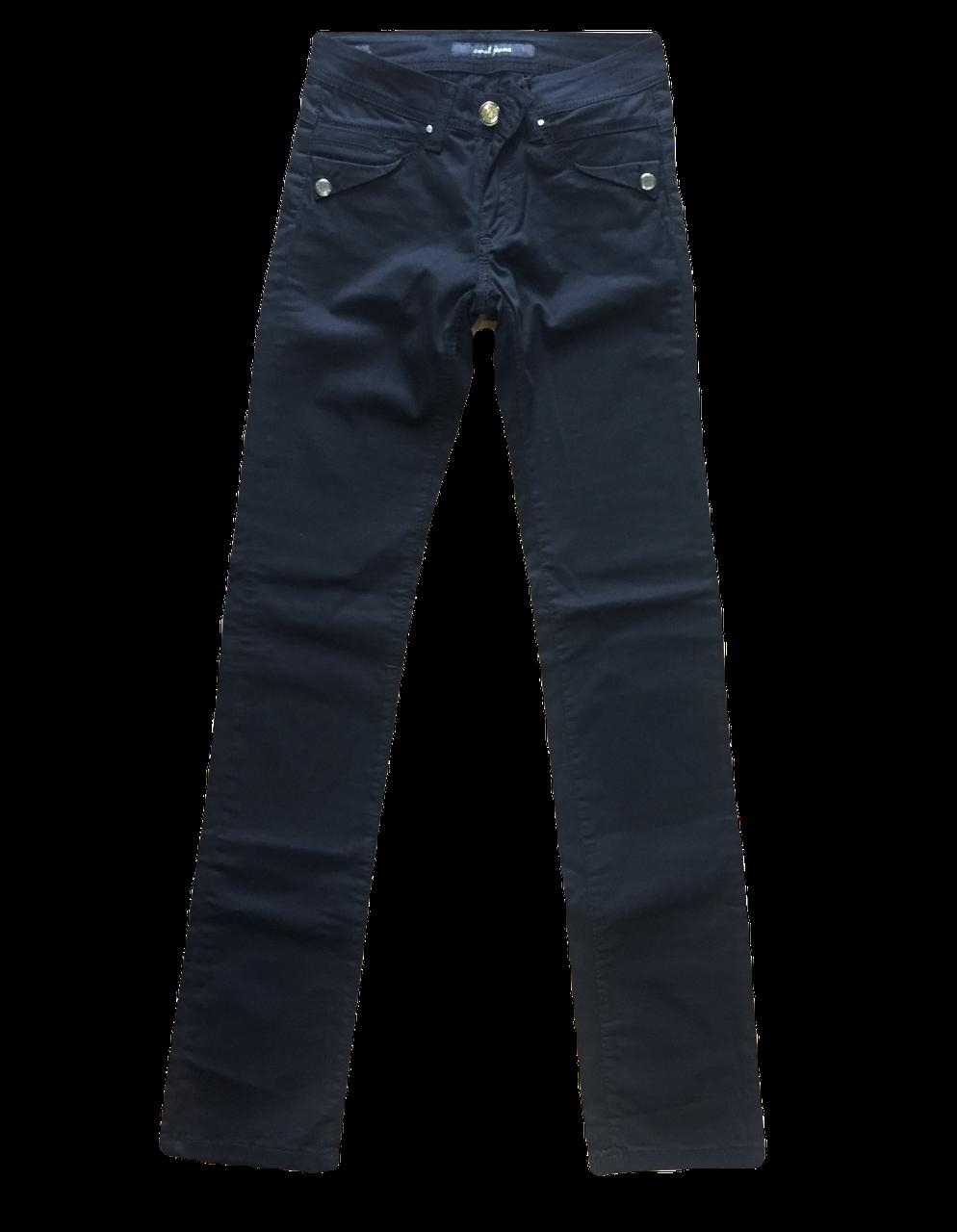 Чёрные женские джинсы Омат 9805