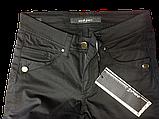 Чёрные женские джинсы Омат 9805, фото 3