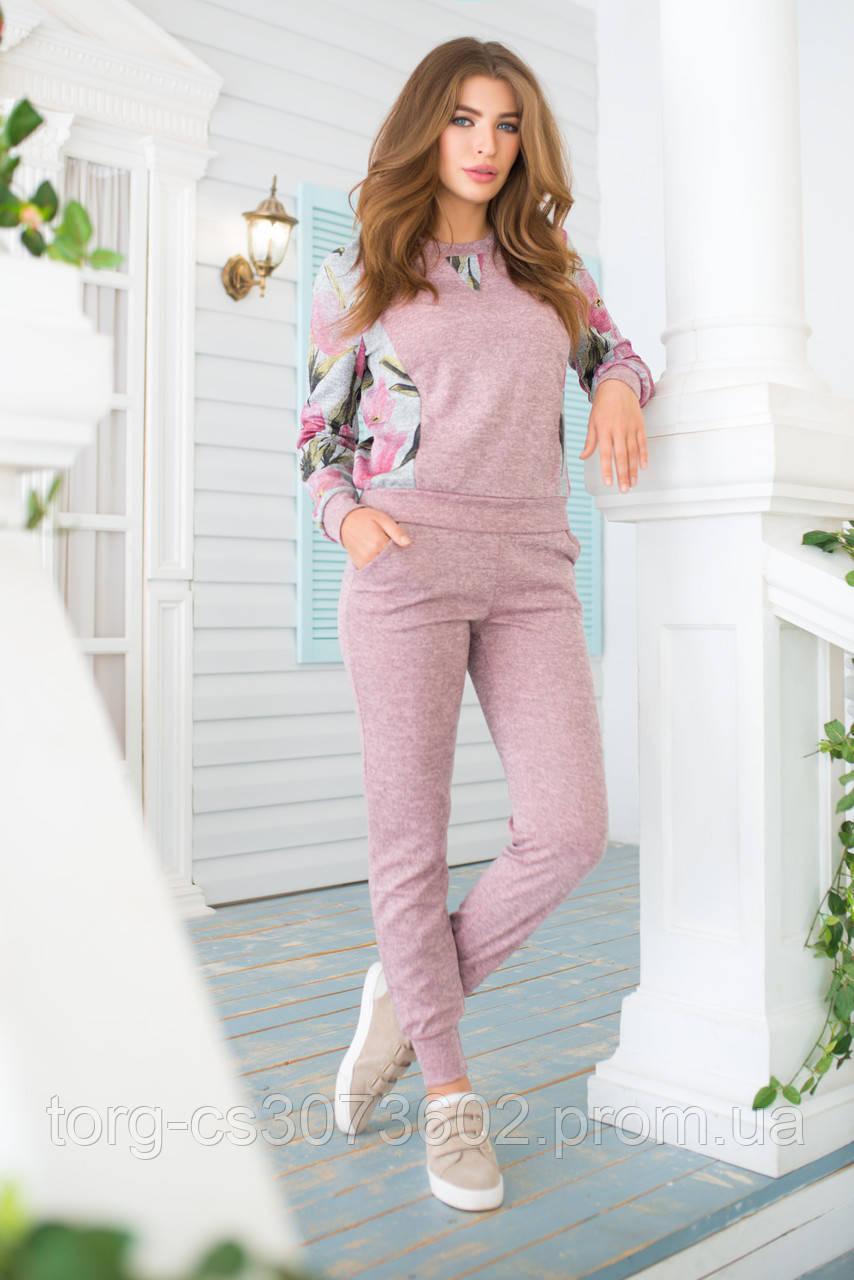 Женский костюм №211 розовый