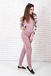 Женский костюм №211 розовый, фото 4
