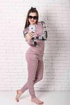 Женский костюм №211 розовый, фото 5