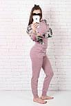 Женский костюм №211 розовый, фото 6