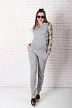 Жіночий костюм №211 сірий, фото 5