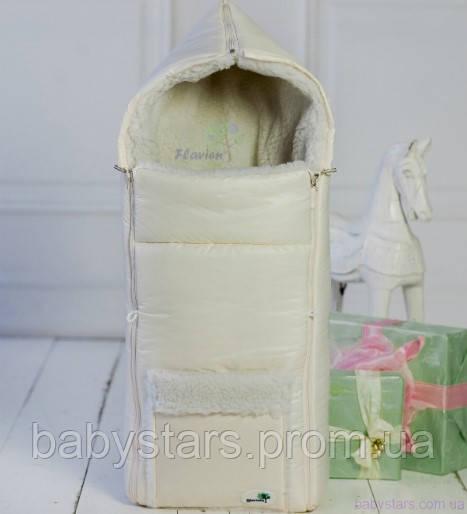 детский зимний конверт в коляску
