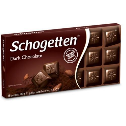 Шогетен черный шоколад 100 г