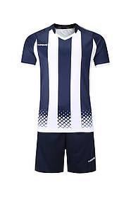 Футбольная форма Europaw 020 т.сине-белая