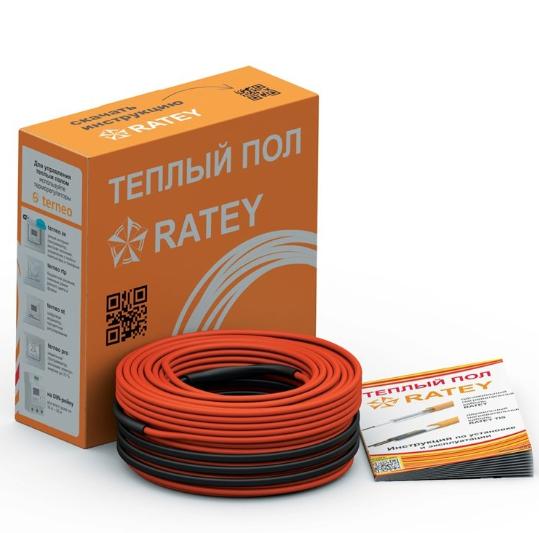 Двухжильный кабельный теплый пол RATEY TIS