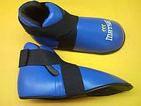 Футы  MATSA (верх-кожа, р-р M,L,XL,XXL, крепл.на резинках, красный, синий)
