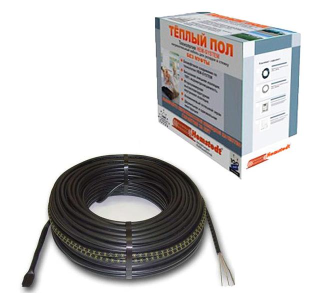 Одножильный кабель для укладки в стяжкуHemstedt 17Вт/м BR-IM-Z (Германия)
