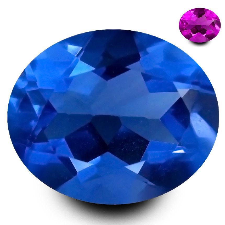 Камень флюорит 4.23 ct  11.15 x 9.12 x 6.14 MM