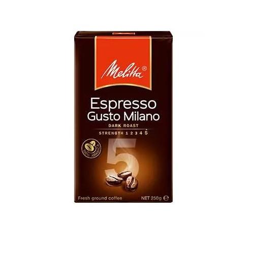 Кофе Melitta Espresso Gusto Milano молотый 0,25 кг