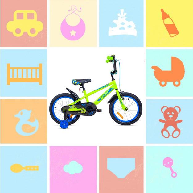 """Двухколесные велосипеды 16"""""""
