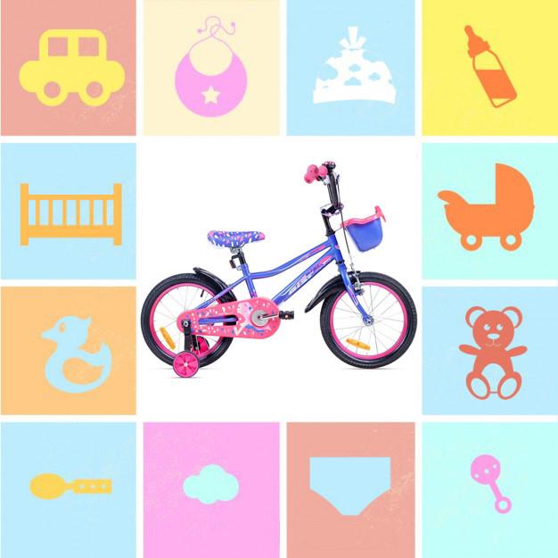 """Двухколесные велосипеды 18"""""""