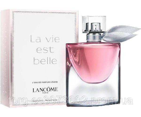 Lancome La Vie Est Belle L'Eau de Parfum Legere, женская парфюмированная вода 75 мл.