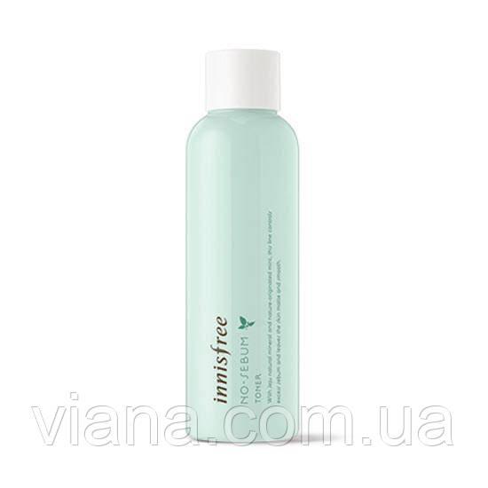 Матирующий минеральный тонер для жирной кожи Innisfree No-Sebum Toner200 ml
