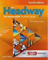 New Headway 4th Edition Pre-Intermediate Student's Book + iTutor DVD-ROM
